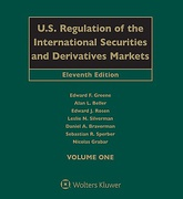 Cover of U.S. Regulation of the International Securities and Derivatives Markets