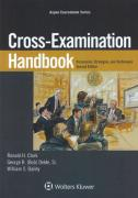 Cover of Cross Examination Handbook: Persuasion Strategies and Techniques