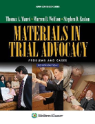 Cover of Materials in Trial Advocacy: Problems & Cases