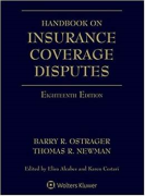 Cover of Handbook of Insurance Coverage Disputes