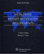 Cover of Worldwide Merger Notification Requirements Looseleaf