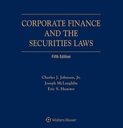 Cover of Corporate Finance and the Securities Laws Looseleaf