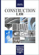 Cover of Construction Law: Journal