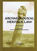 Cover of Archaeological Heritage Law