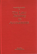 Cover of Watson-Gandy on the Law Relating to Accountants
