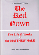 Cover of The Red Gown : The Life and Works of Sir Matthew Hale