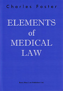 Cover of Elements of Medical Law