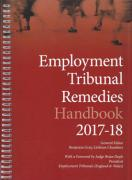 Cover of Employment Tribunal Remedies Handbook 2017-18