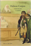 Cover of Habeas Corpus: From England to Empire