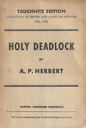 Cover of Holy Deadlock