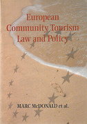 Cover of European Community Tourism Law and Policy