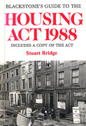 Cover of Blackstone's Guide to The Housing Act 1988