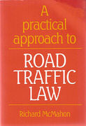 Cover of A Practical Approach to Road Traffic Law