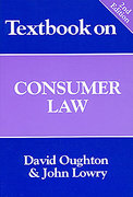 Cover of Textbook on Consumer Law