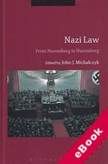 Cover of Nazi Law: From Nuremberg to Nuremberg (eBook)