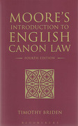 Cover of Moore's Introduction to English Canon Law