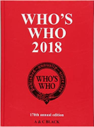 Cover of Who's Who 2018