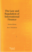 Cover of The Law and Regulation of International Finance: Student Edition