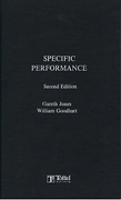 Cover of Specific Performance