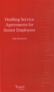 Cover of Drafting Service Agreements for Senior Employees