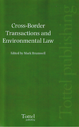 Cover of Cross-Border Transactions and Environmental Law