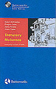 Cover of Statutory Nuisance Law and Practice