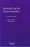 Cover of Essential Law for Claims Handlers