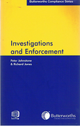 Cover of Investigations and Enforcement