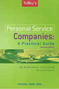 Cover of Tolley's Personal Service Companies: A Practical Guide (Old Jacket)