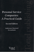 Cover of Personal Service Companies: A Practical Guide