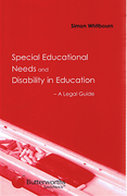 Cover of Special Education Needs and Disability in Education - A Legal Guide