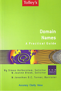 Cover of Tolley's Domain Names: A Practical Guide