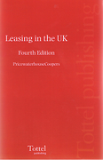 Cover of Leasing in the UK