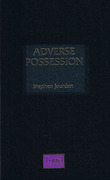 Cover of Adverse Possession