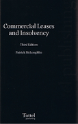 Cover of Commercial Leases and Insolvency