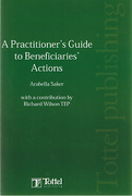 Cover of A Practitioner's Guide to Beneficiaries Actions