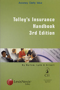 Cover of Tolley's Insurance Handbook