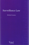 Cover of Surveillance Law