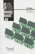 Cover of Housing and Housing Benefit Law