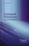 Cover of Licensed Premises: Law and Practice