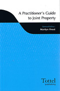 Cover of A Practitioner's Guide to Joint Property