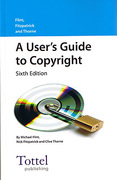 Cover of A User's Guide to Copyright