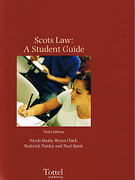 Cover of Scots Law: A Student Guide