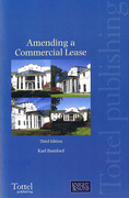 Cover of Amending a Commercial Lease