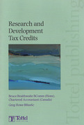 Cover of Research and Development Tax Credits
