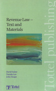 Cover of Revenue Law Text and Materials