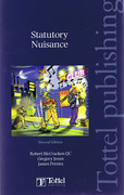Cover of Statutory Nuisance: Law and Practice