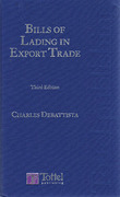 Cover of Bills of Lading in Export Trade