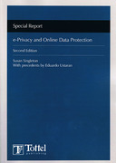 Cover of e-Privacy and Online Data Protection