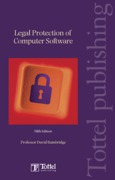 Cover of Legal Protection of Computer Software